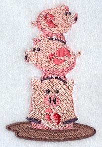 3 Little Piggies Stack