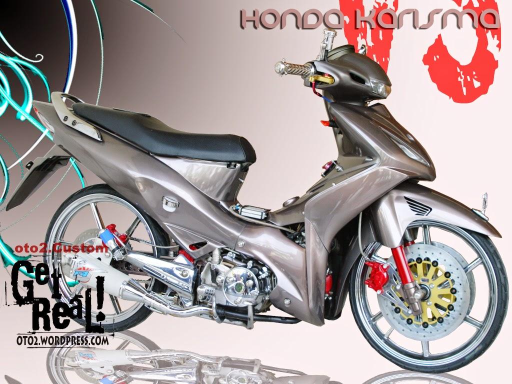 Modifikasi Motor Honda Karisma 125