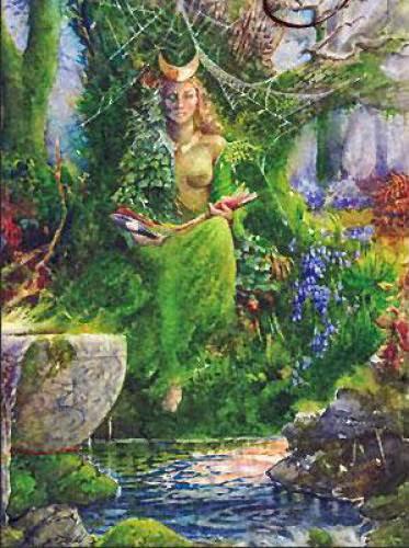 Book Of Shadows A Spell For Knowledgewisdom Kerridwen Cauldron Spell