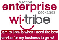 wi-tribe broadband enterprise Packages for business