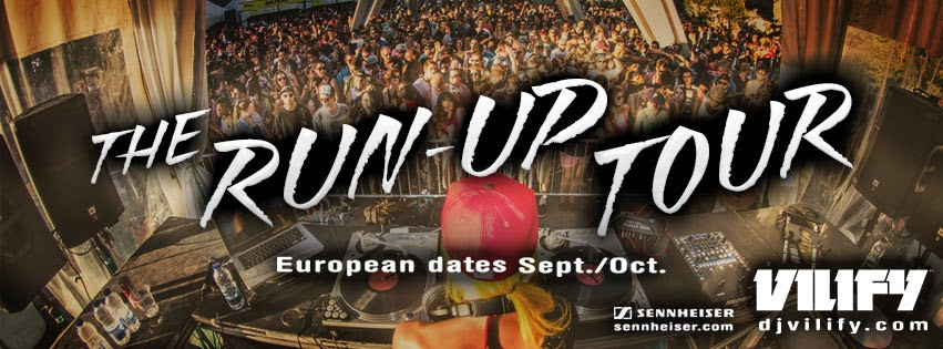 VILIFY The Run-up Tour Europe Dates