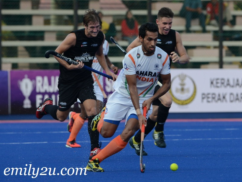 22nd SAS Cup 2013: Day 4: Match 2: New Zealand (2) - India (0)