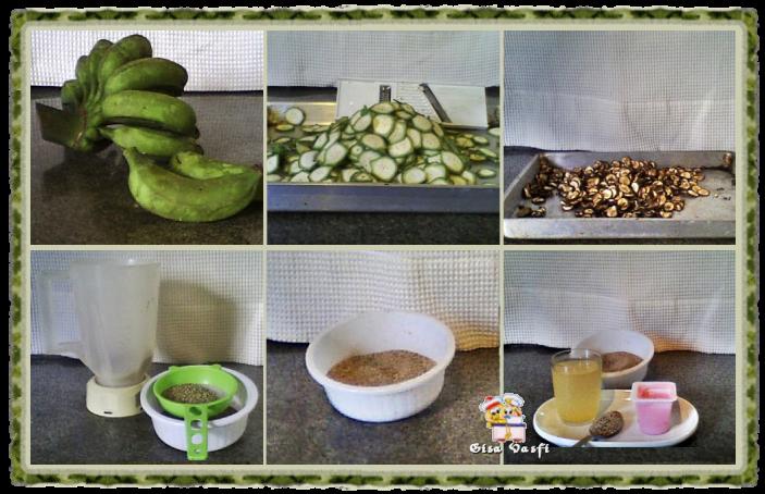 Farinha de banana verde
