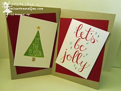 Stampin' Up! Weihnachten, Christmas, Weihnachtskarte, Project Life, Hello December, Hallo Dezember