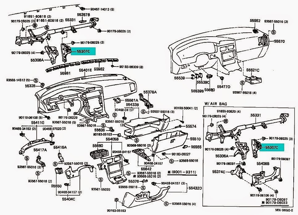 91 93_dash dash wiring diagram 91 mr2 dash wiring diagrams  at bakdesigns.co