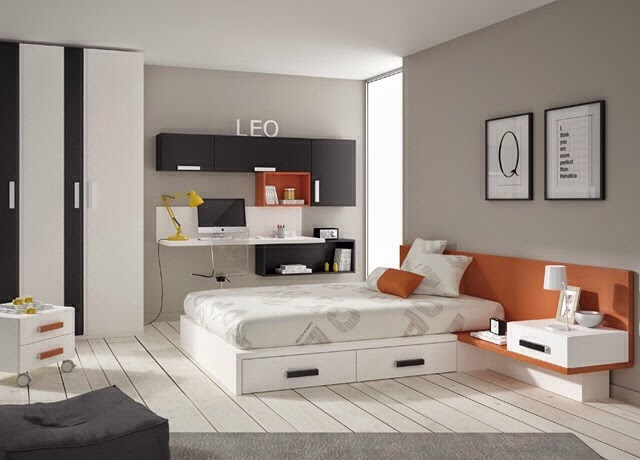 Dormitorios juveniles para chicos y chicas de 16 17 18 19 - Camas para jovenes modernas ...