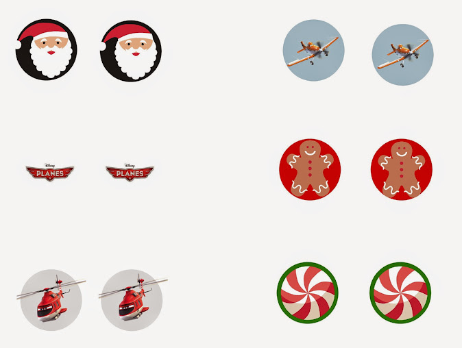 "Free Printable Disney Planes ""Jingle Bells"" Matching Game Template #PlanesToTheRescue"