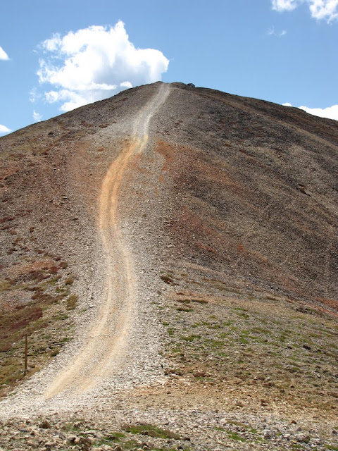 Descent down Red Cone
