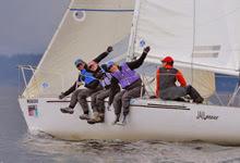 J/24 one-design sailing- Seattle NOOD regatta