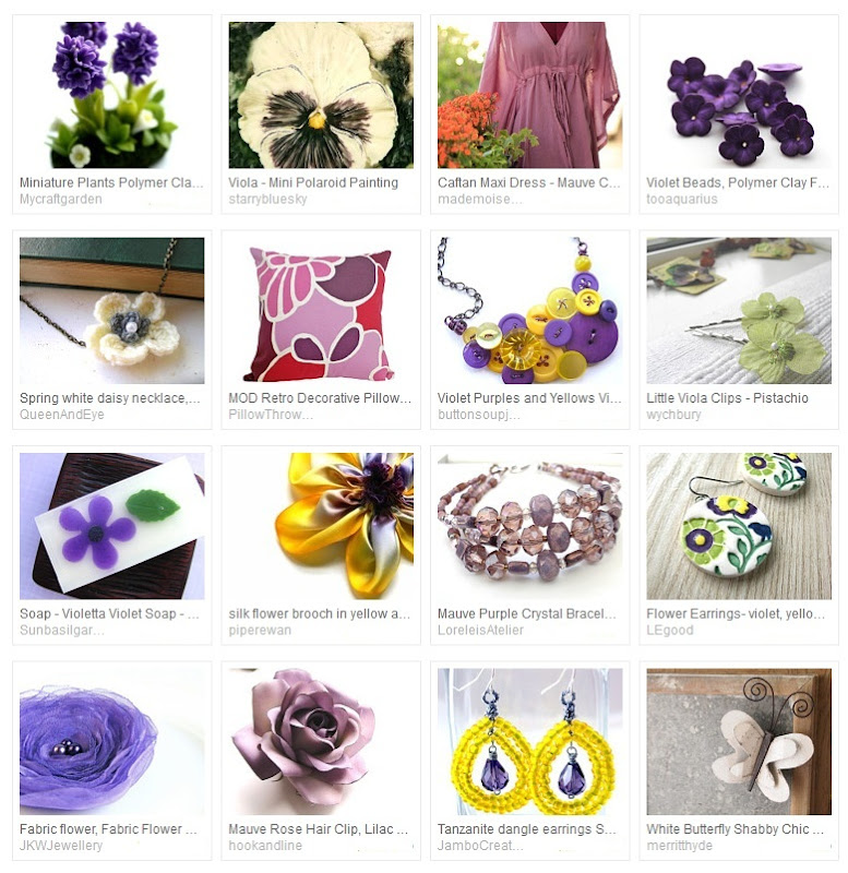 Violets are Spring Treasury