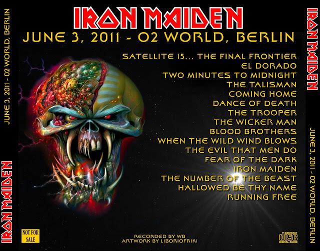 Iron maiden berlin