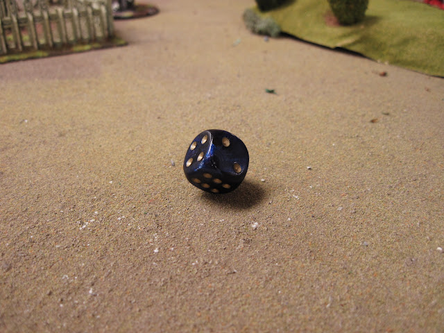 And they say my dice are weighted.