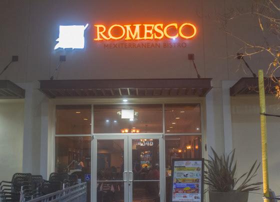 Romesco Mexiterranean Bistro