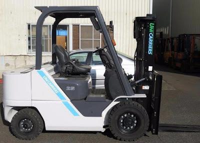 Xe nâng diesel Unicarriers Nhật Bản