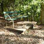 Seat next to Lookout Road in Blackbutt Reserve (399895)