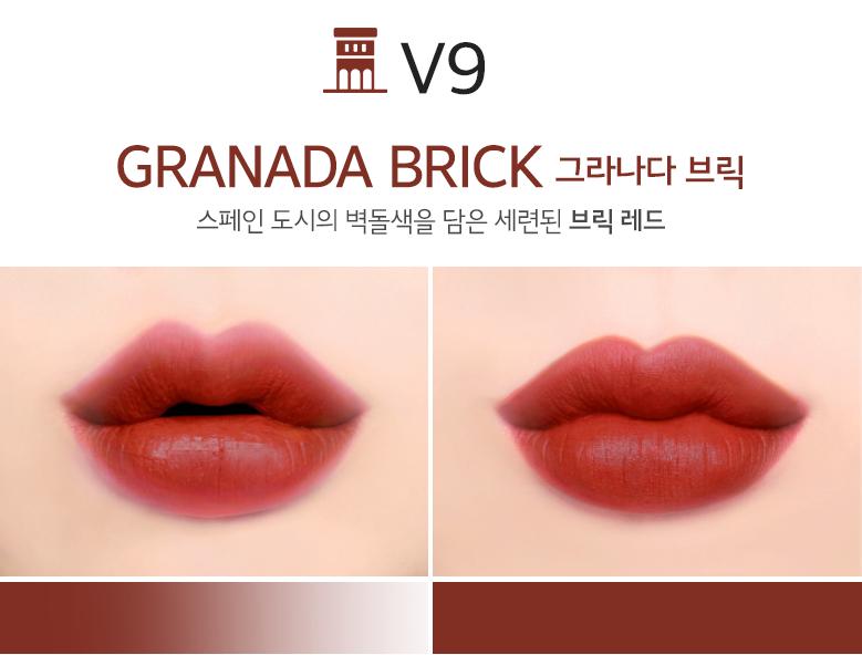 SonMerzy The First Velvet Tint V9 Granada Brick