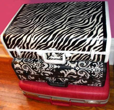 Suitcases made pretty