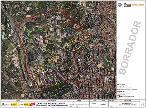 Borrador del Plan de Movilidad para Ciudad Universitaria