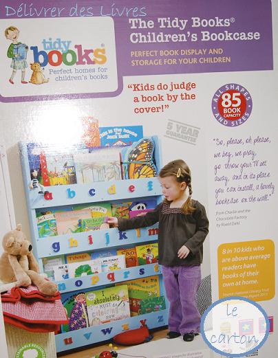 tidy books une vraie biblioth que pour les enfants d livrer des livres. Black Bedroom Furniture Sets. Home Design Ideas
