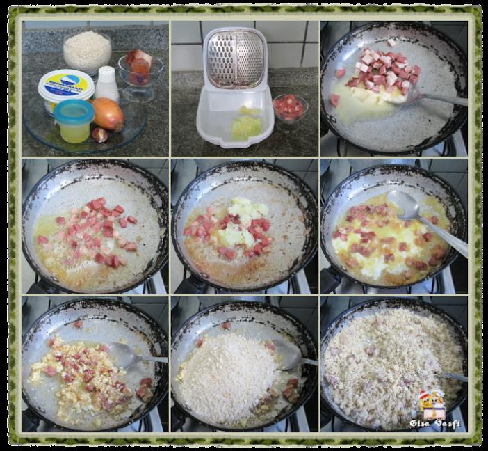 Farofa de ovo 2