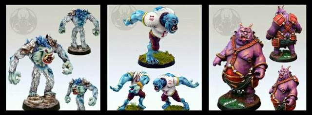 Blood Bowl Troll Greebo