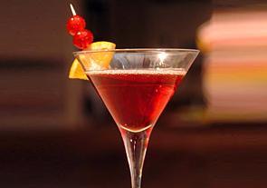 martini de arandano