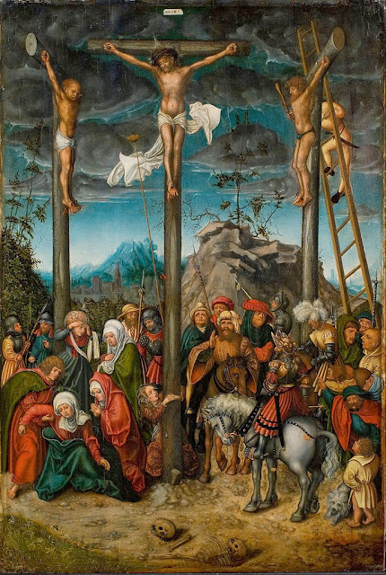 Lucas Cranach the Elder - The Crucifixion - Google Art Project