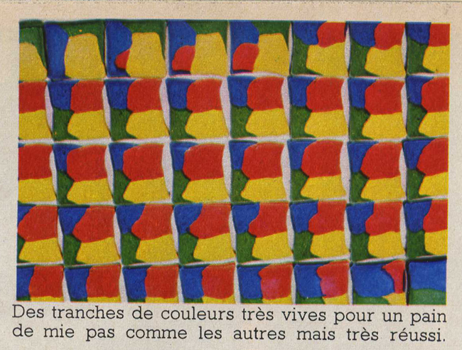 Recette de cuisine vintage : Gâteaux-Tableaux, Gâteaux-Couleurs - Pour vous Madame, pour vous Monsieur, des publicités, illustrations et rédactionnels choisis avec amour dans des publications des années 50, 60 et 70. Popcards Factory vous offre des divertissements de qualité. Vous pouvez également nous retrouver sur www.popcards.fr et www.filmfix.fr   - For you Madame, for you Sir, advertising, illustrations and editorials lovingly selected in publications from the fourties, the sixties and the seventies. Popcards Factory offers quality entertainment. You may also find us on www.popcards.fr and www.filmfix.fr