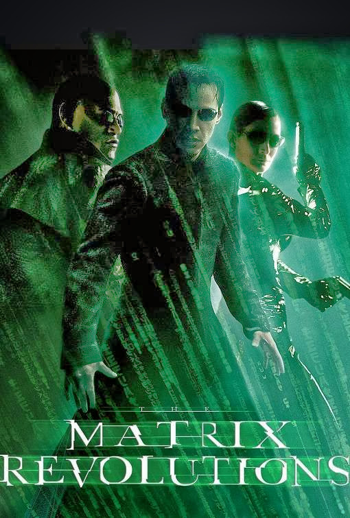 Poster Of The Matrix Revolutions (2003) Full Movie Hindi Dubbed Free Download Watch Online At Alldownloads4u.Com