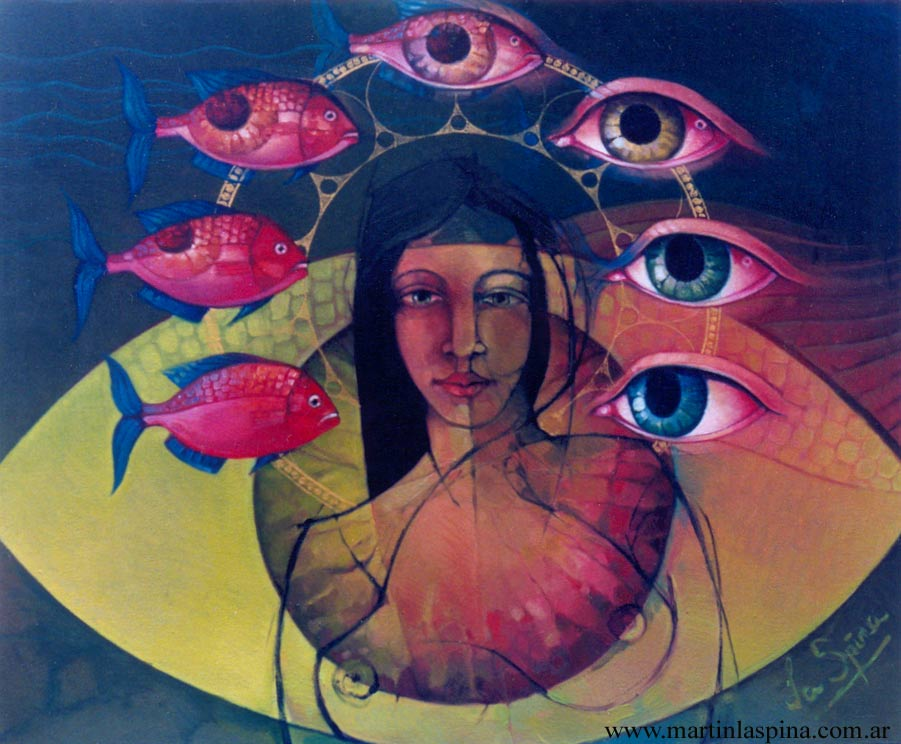 Martín La Spina | Argentine Surrealist painter