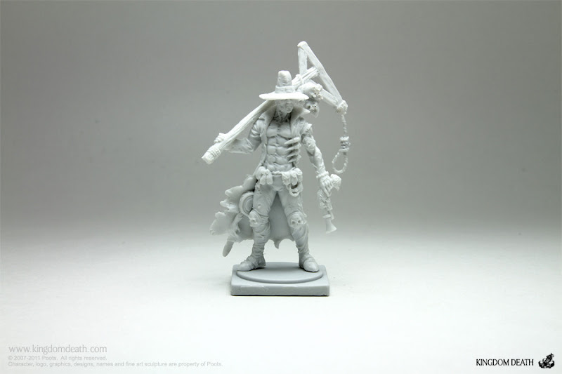 kingdom death monster man hunter