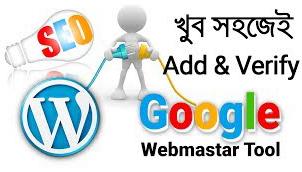 Cách cài đặt webmaster tool cho wordpress