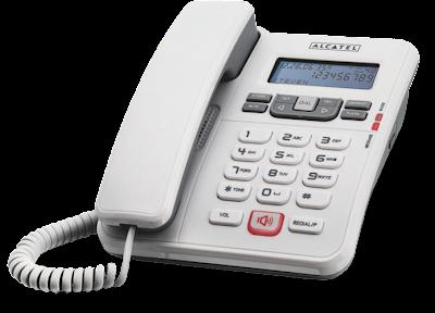 Alcatel Temporis 55 λευκό