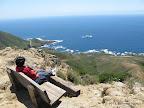 Views of Pacific along Rocky Ridge Trail