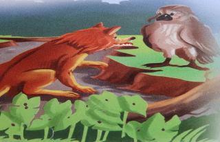 El águila y la zorra fabula infantil