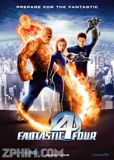 Bộ Tứ Siêu Đẳng - Fantastic Four (2005) Poster