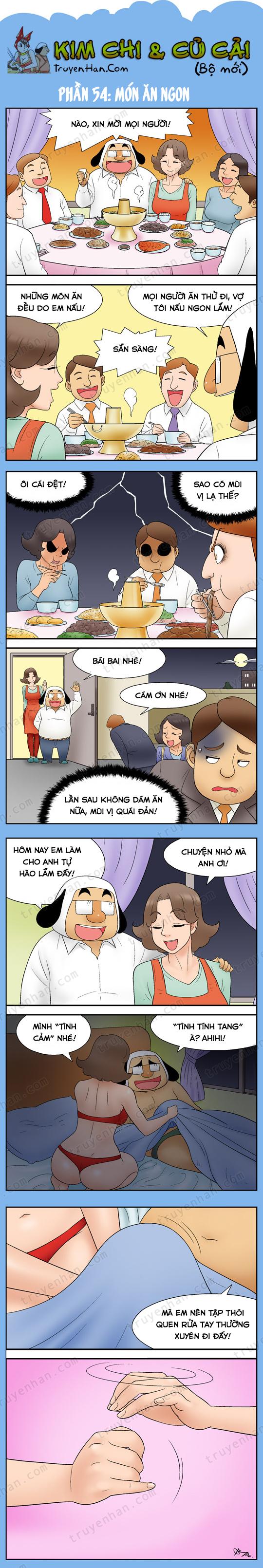 Kim Chi & Củ Cải (bộ mới) phần 54: Món ăn ngon