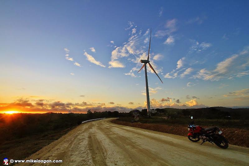 Sunset at San Lorenzo Windmills