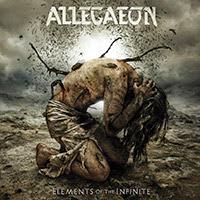 Allegaeon - Elements Of The Infinite recenzja okładka review cover