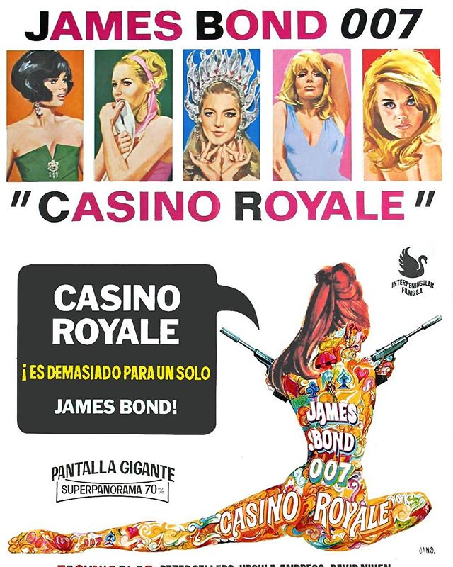 Casino Royale (1967, John Huston y Kenneth Hughes)