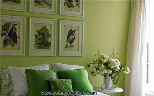 Phòng khách tươi mới đón mùa xuân hè_tin tức nội thất-5