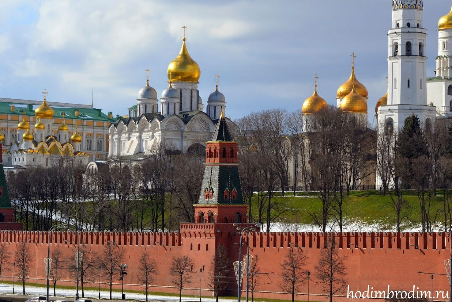 Вторая безымянная башня московского кремля