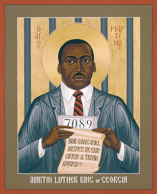 Contemplating the Gospel and the life of Martin Luther King Jr