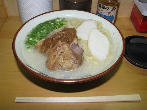 月桃(安里店)・「ソーキそば(大)・こってりダシ」