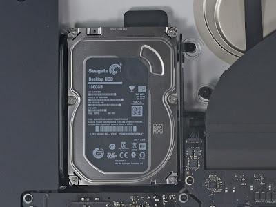 新型iMac 5K RetinaのHDD
