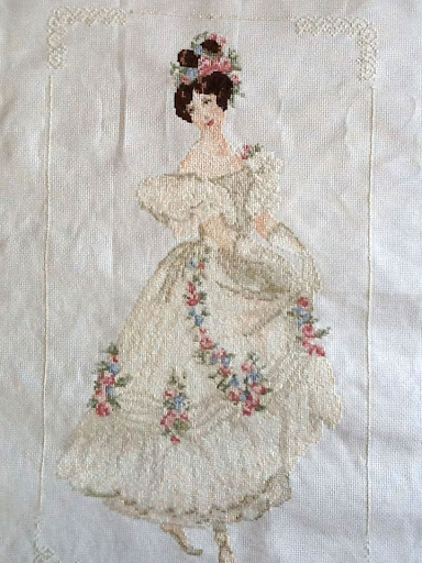 Cross Stitch Victorian Ladies