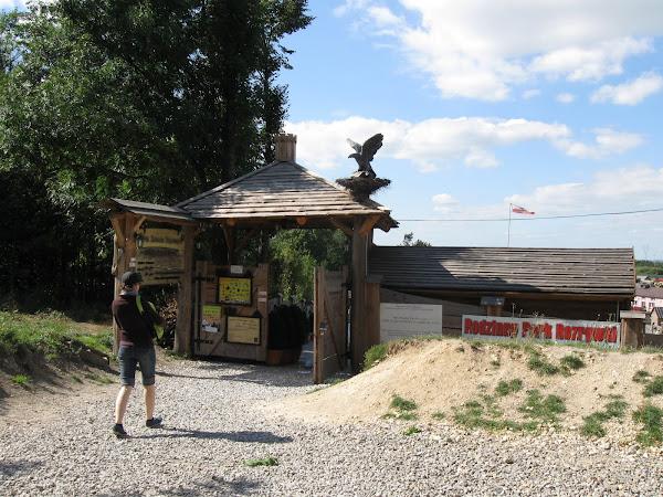 park zamków jurajskich - wejście
