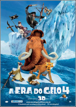A Era do Gelo 4 DVDRip Dual Áudio Download Gratis