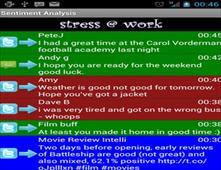 برنامج للهاتف يساعد على إزالة التوتر