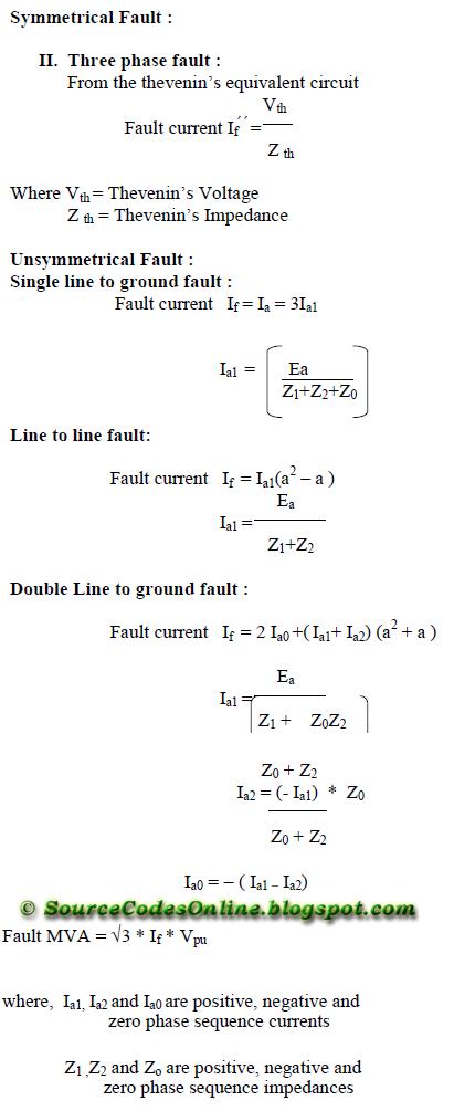 MATLAB Program for Short Circuit Analysis   EE1404 – Power System